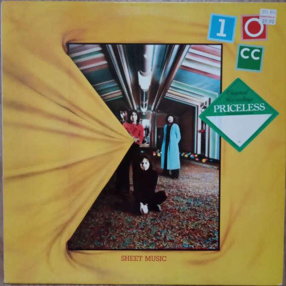 10cc Sheet Music LP 0