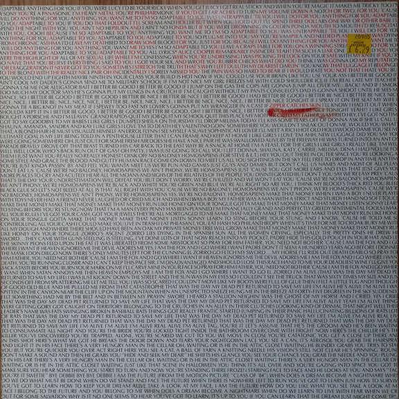 Alice Cooper Zipper Catches Skin  LP 0