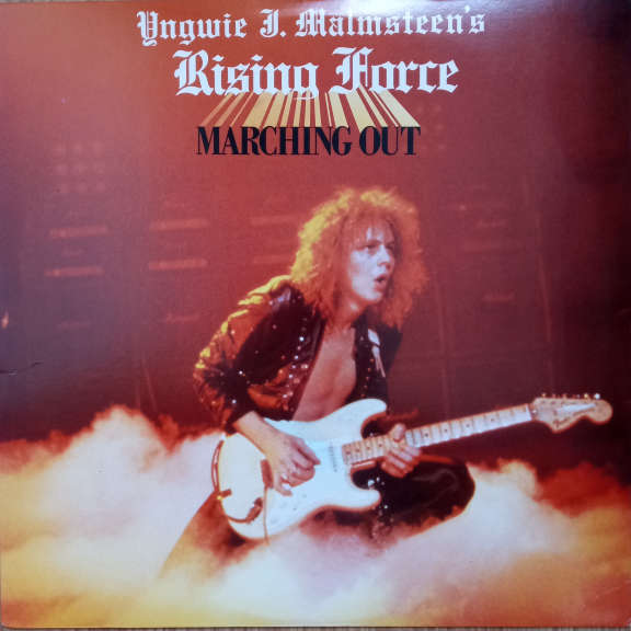 Yngwie J. Malmsteen's Rising Force Marching Out LP 0