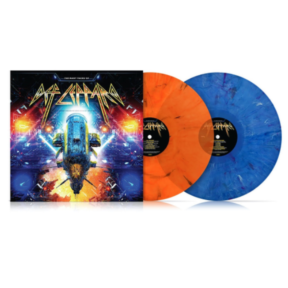 Various The Many Faces of Def Leppard LP 2020