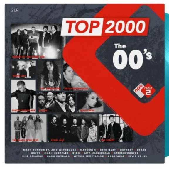 Various Top 2000 - The 00's (coloured) LP 2020