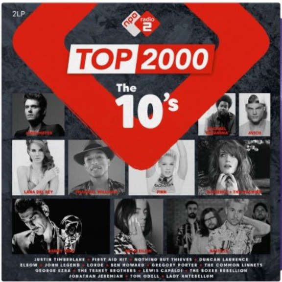 Various Top 2000 - The 10's (coloured) LP 2020