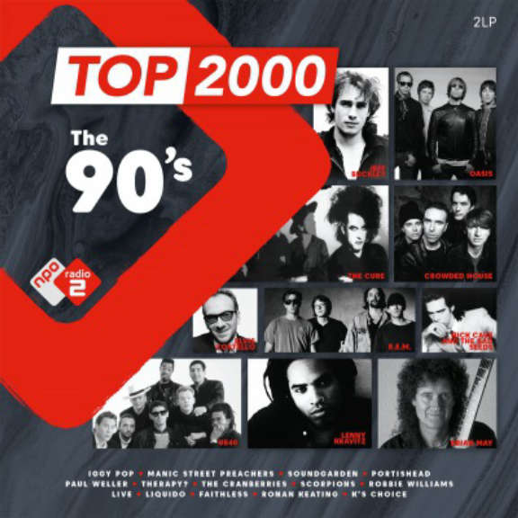 Various Top 2000 - The 90's (coloured) LP 2020