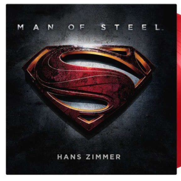 Hans Zimmer (various artists) Soundtrack : Man of steel (coloured) LP 2020
