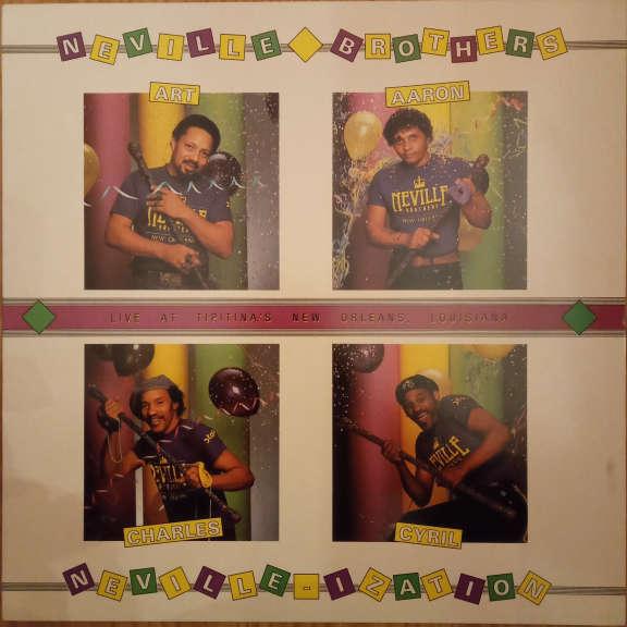 The Neville Brothers Neville-ization LP 0