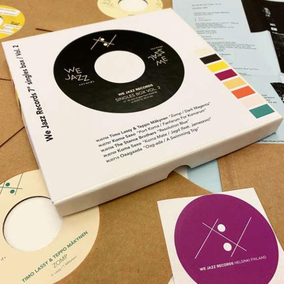 "Various We Jazz Records 7"" singles box vol.2 7 tuumainen 2020"
