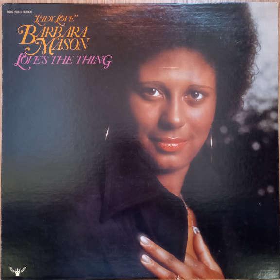 """Lady Love"" Barbara Mason Love's The Thing LP 0"