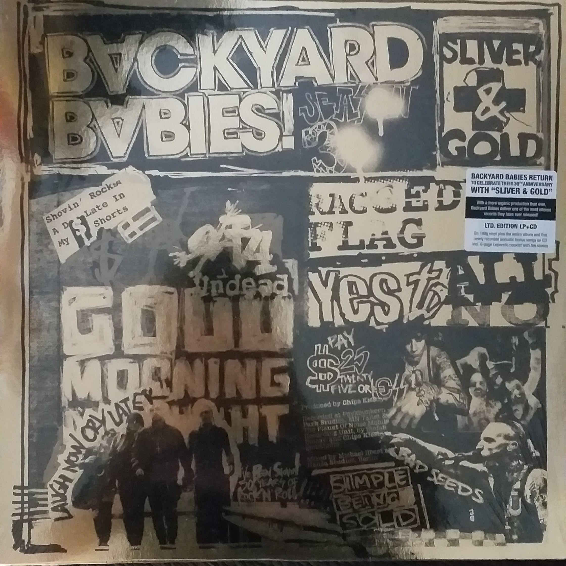 Backyard babies Sliver & gold LP undefined
