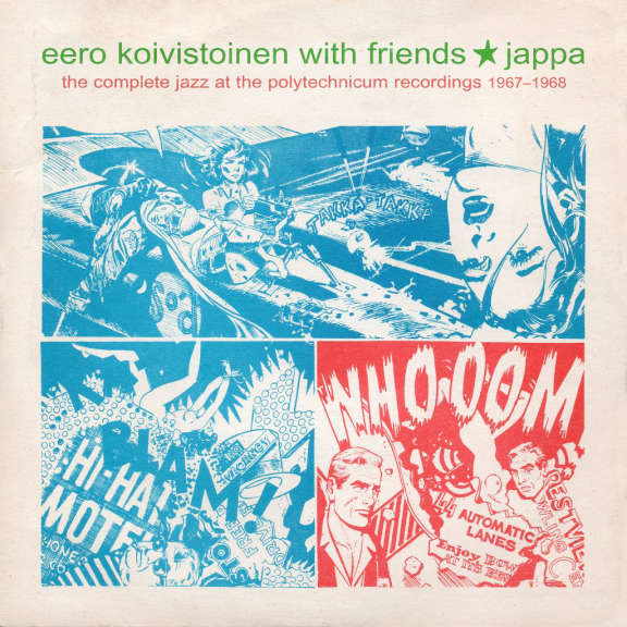 Eero Koivistoinen With Friends Jappa: The Complete Jazz at the Polytechnicum Recordings 1967-1968 LP 2021
