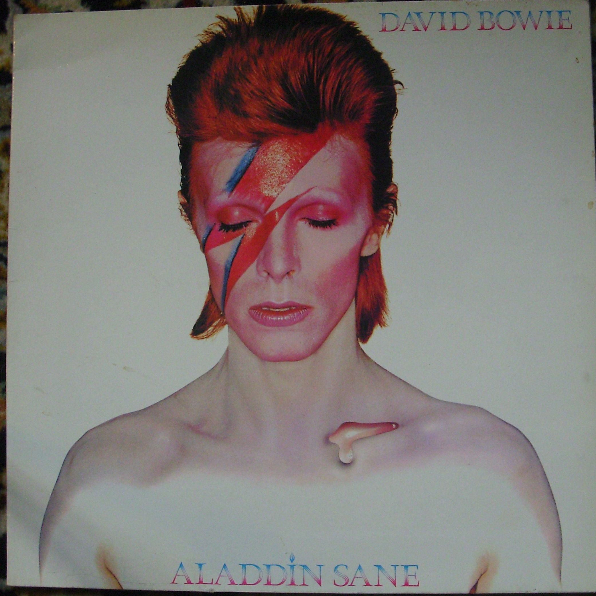 David Bowie Aladdin Sane LP undefined