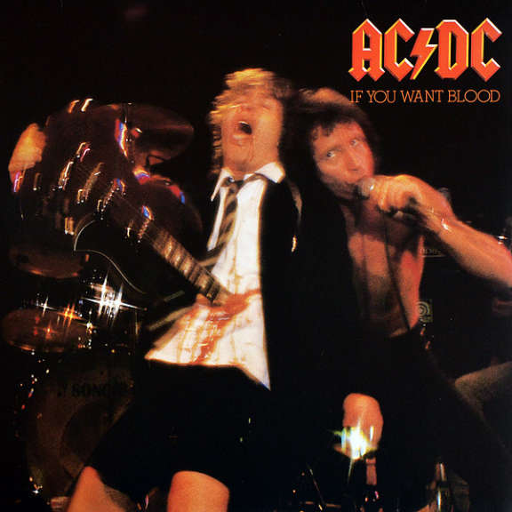 AC/DC If You Want Blood You've Got It LP 0