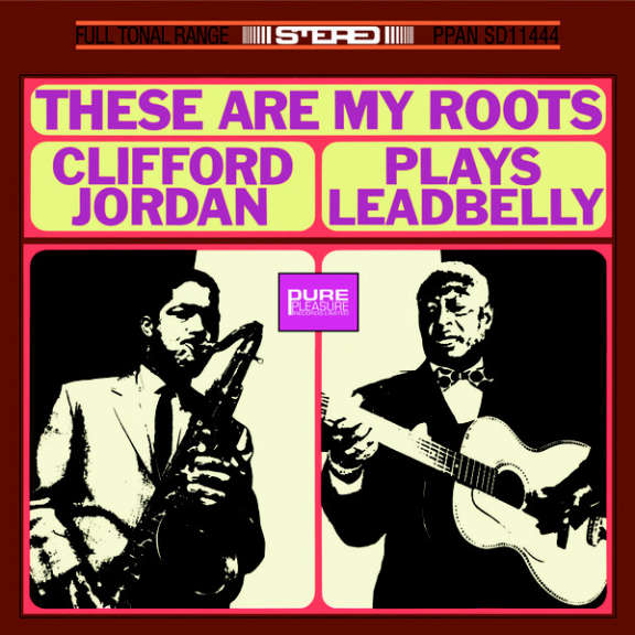 Clifford Jordan These Are My Roots - Clifford Jordan Plays Leadbelly LP 0
