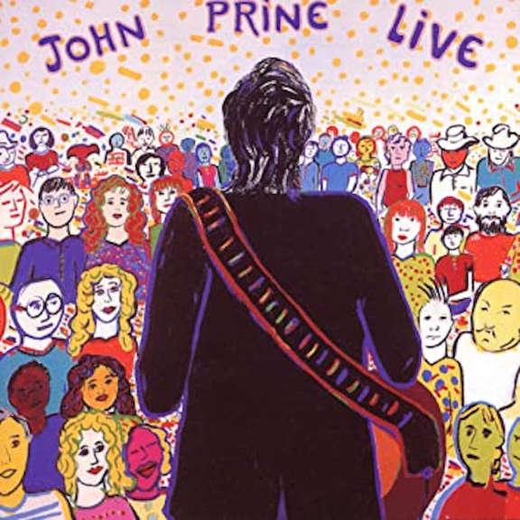 John Prine John Prine Live (black) LP 2020