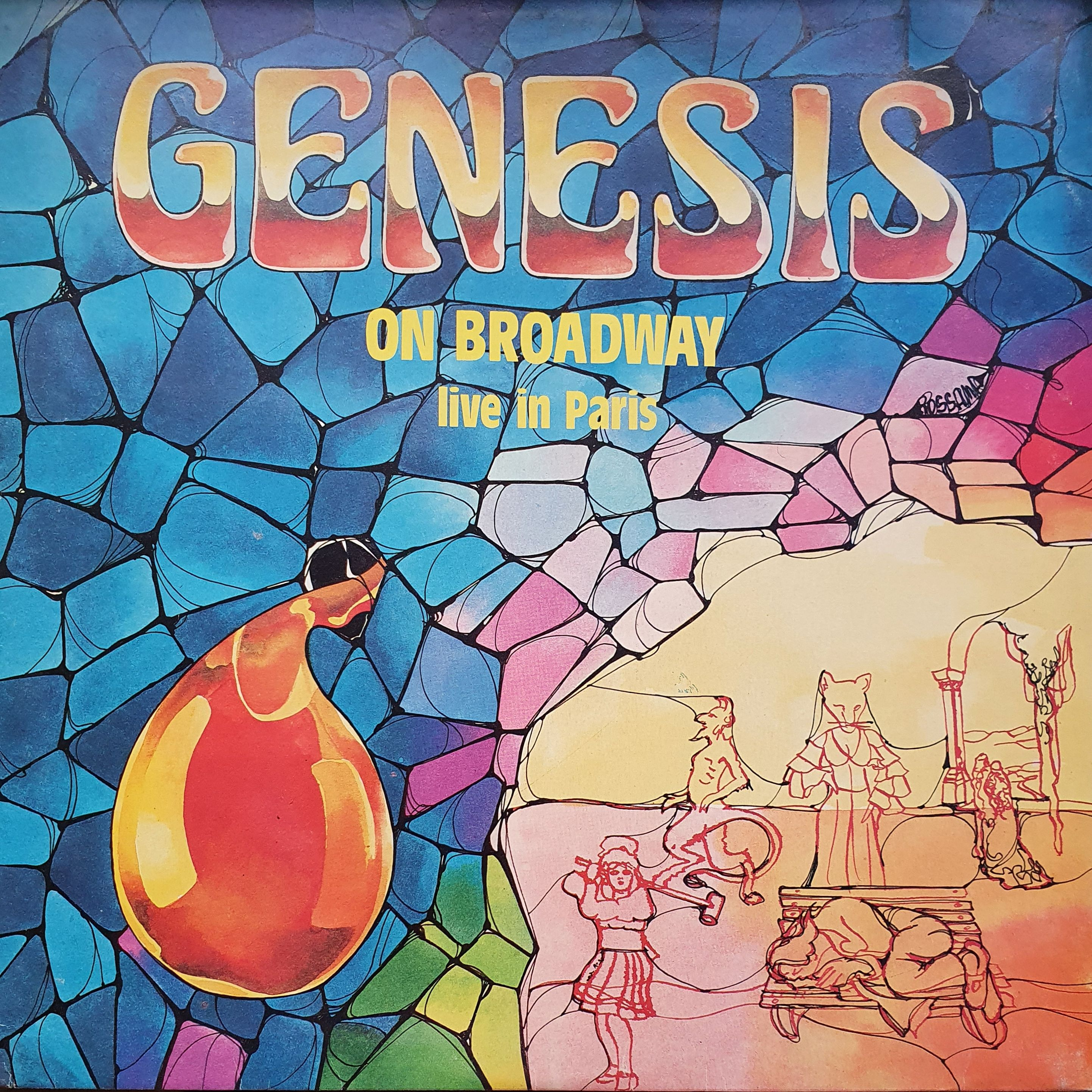 Genesis On Broadway LP undefined