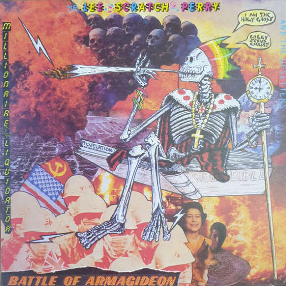 Mr. Lee 'Scratch' Perry And The Upsetters Battle Of Armagideon (Millionaire Liquidator) LP 0