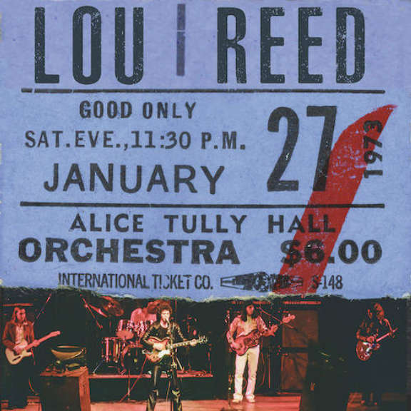 Lou Reed Lou Reed Live At Alice Tully Hall - January 27, 1973 - 2nd Show (Black Friday 2020)  LP 0