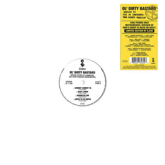Ol' Dirty Bastard Return to the 36 Chambers: The Dirty Version (The Instrumentals) (Black Friday 2020) LP 0