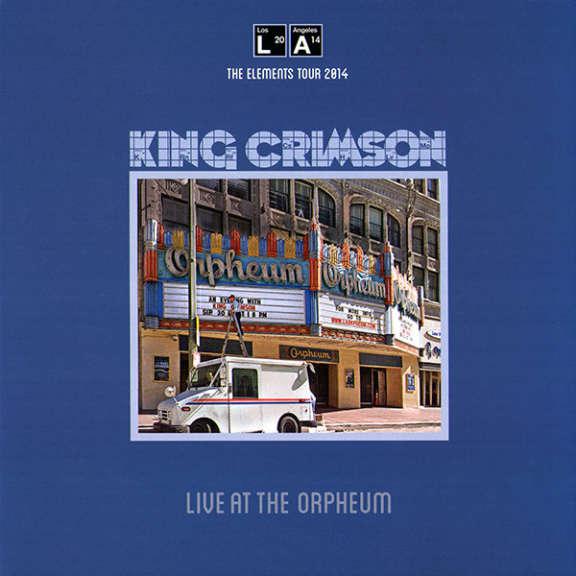 King Crimson Live At The Orpheum LP 0