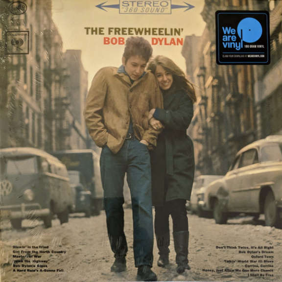 Bob Dylan The Freewheelin' Bob Dylan LP 0