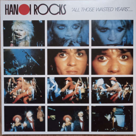 Hanoi Rocks All Those Wasted Years LP 0