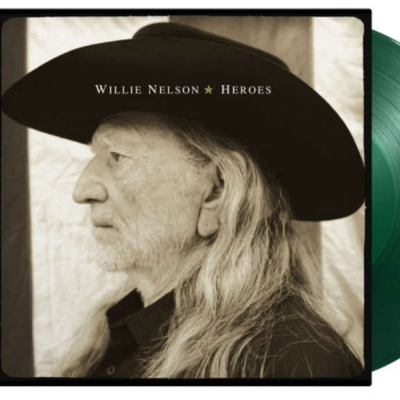 Willie Nelson Heroes (coloured) LP 2021
