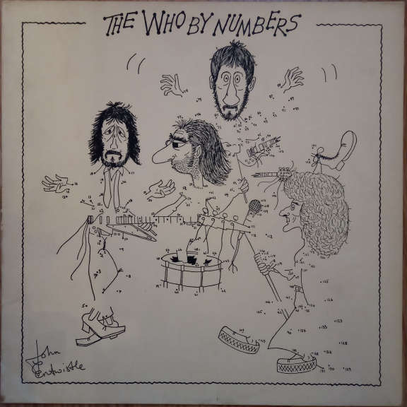 The Who The Who By Numbers LP 0