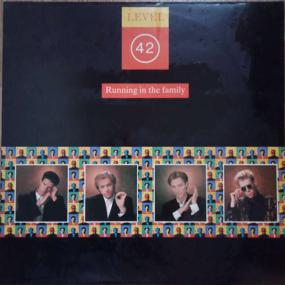 Level 42 Running In The Family LP 0