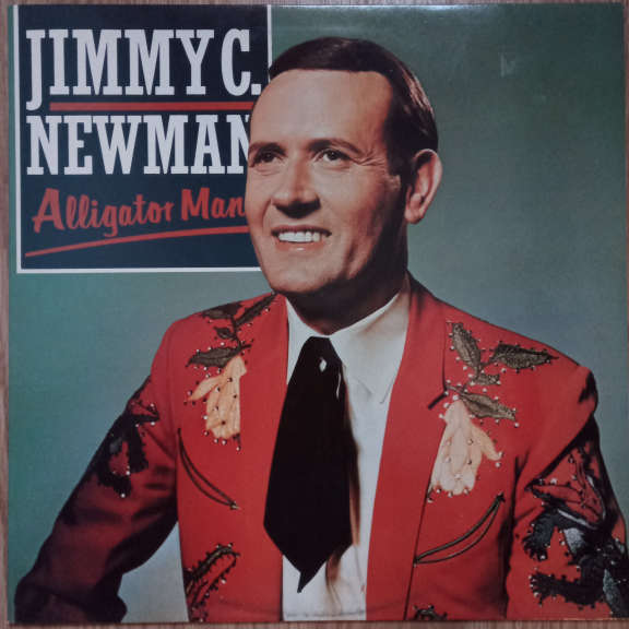 Jimmy C. Newman Alligator Man LP 0