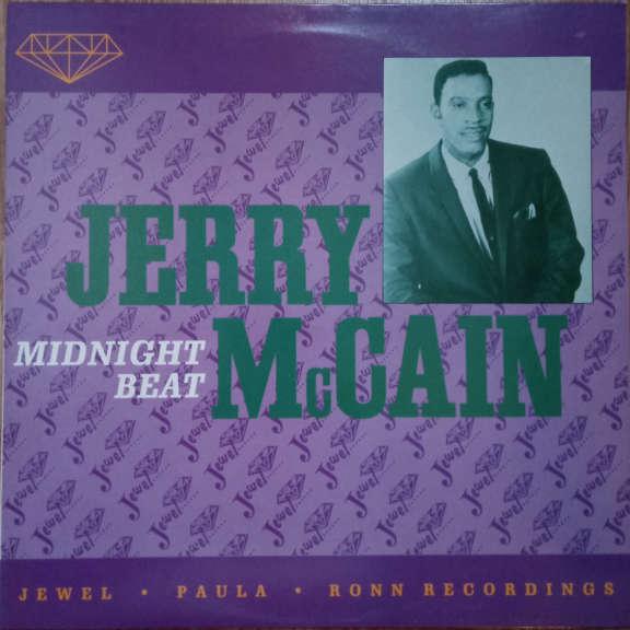 Jerry McCain Midnight Beat (Jewel, Paula, Ronn Recordings) LP 0
