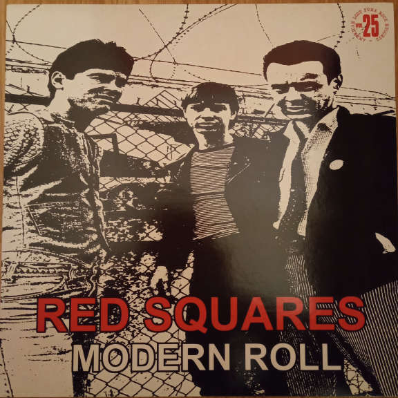Red Squares Modern Roll LP 0