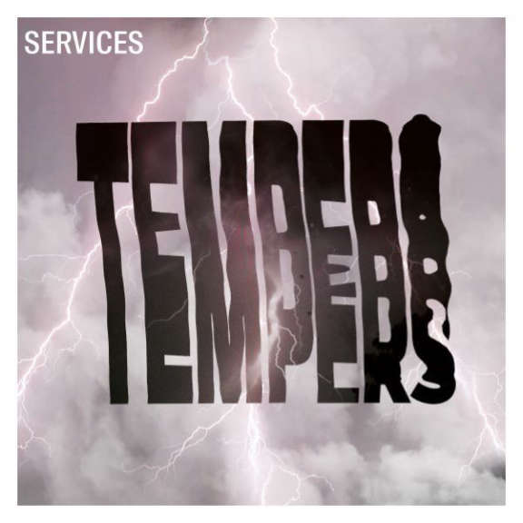 Tempers Services (black) LP 2021
