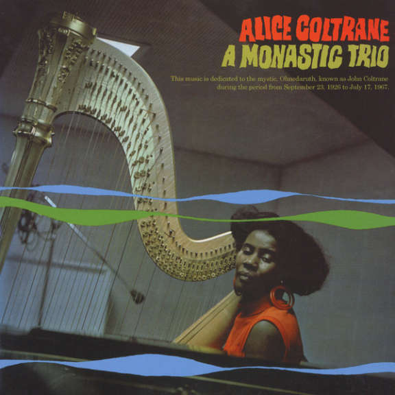 Alice Coltrane A Monastic Trio LP 0