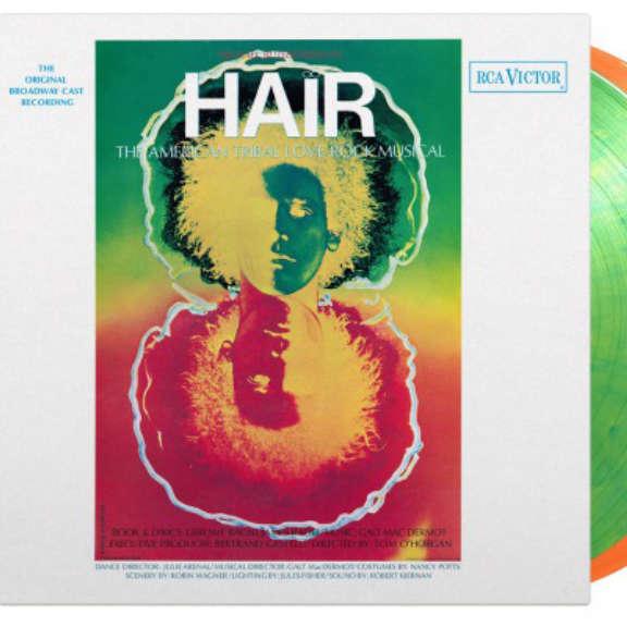 Galt MacDermot (various artists) Soundtrack : Hair (Original Broadway Cast) (coloured) LP 2021