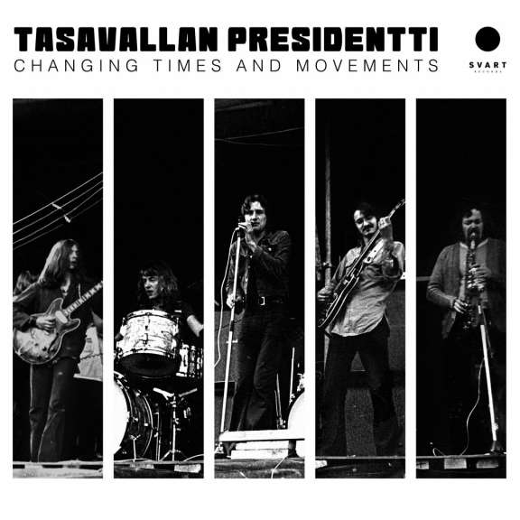 Tasavallan Presidentti Changing Times And Movements - Live in Finland And Sweden 1970-1971 (black) LP 2021