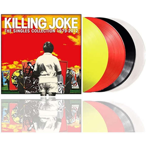 Killing Joke Singles collection 1979-2012 (coloured) LP 2020