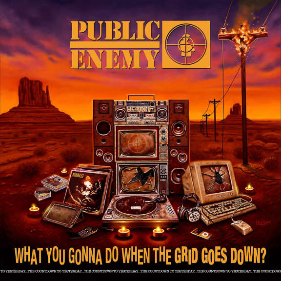 Public Enemy What You Gonna Do When The Grid Goes Down? LP 2020