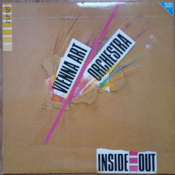 Vienna Art Orchestra Inside Out - Live '87 LP 0
