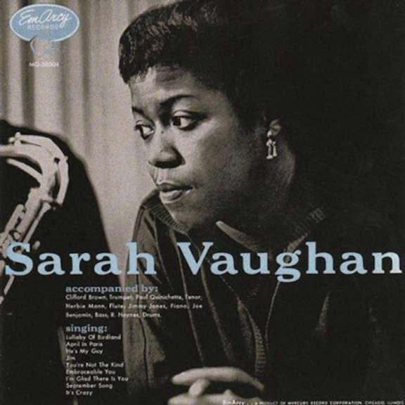Sarah Vaughan  With Clifford Brown Sarah Vaughan LP 2021