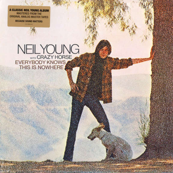 Neil Young With Crazy Horse Everybody Knows This Is Nowhere LP 0