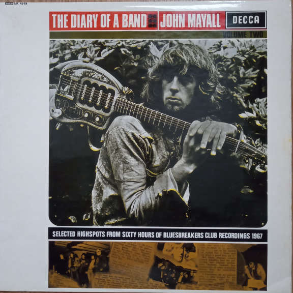 John Mayall / John Mayall's Bluesbreakers The Diary Of A Band Volume Two LP 0