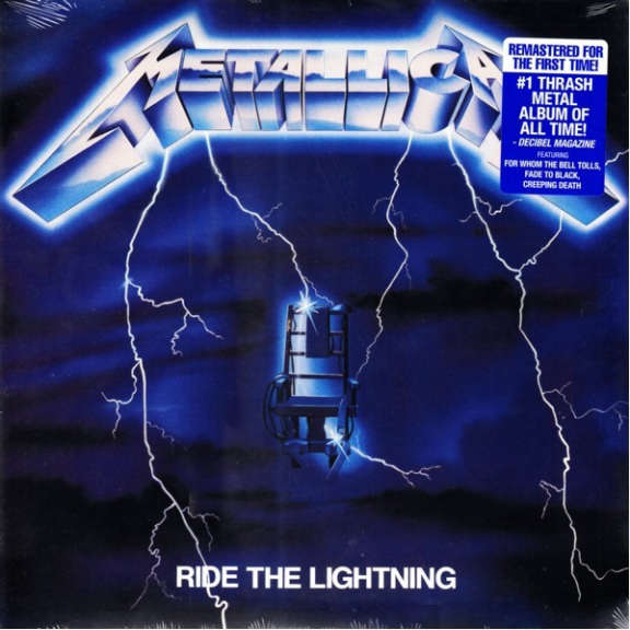 Metallica Ride The Lightning  LP 0
