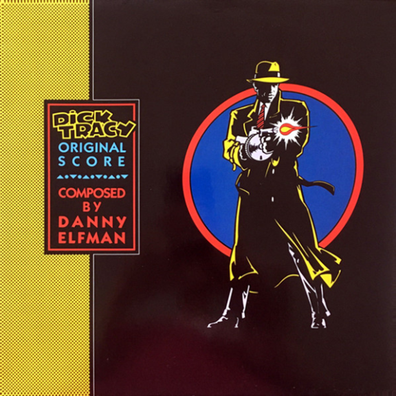 Danny Elfman Soundtrack : Dick Tracy (coloured) LP 2021