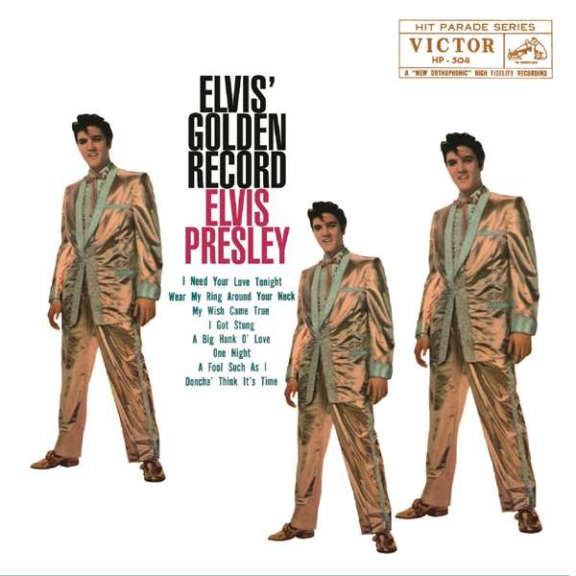 Elvis Presley Elvis' Golden Record (coloured) LP 2021