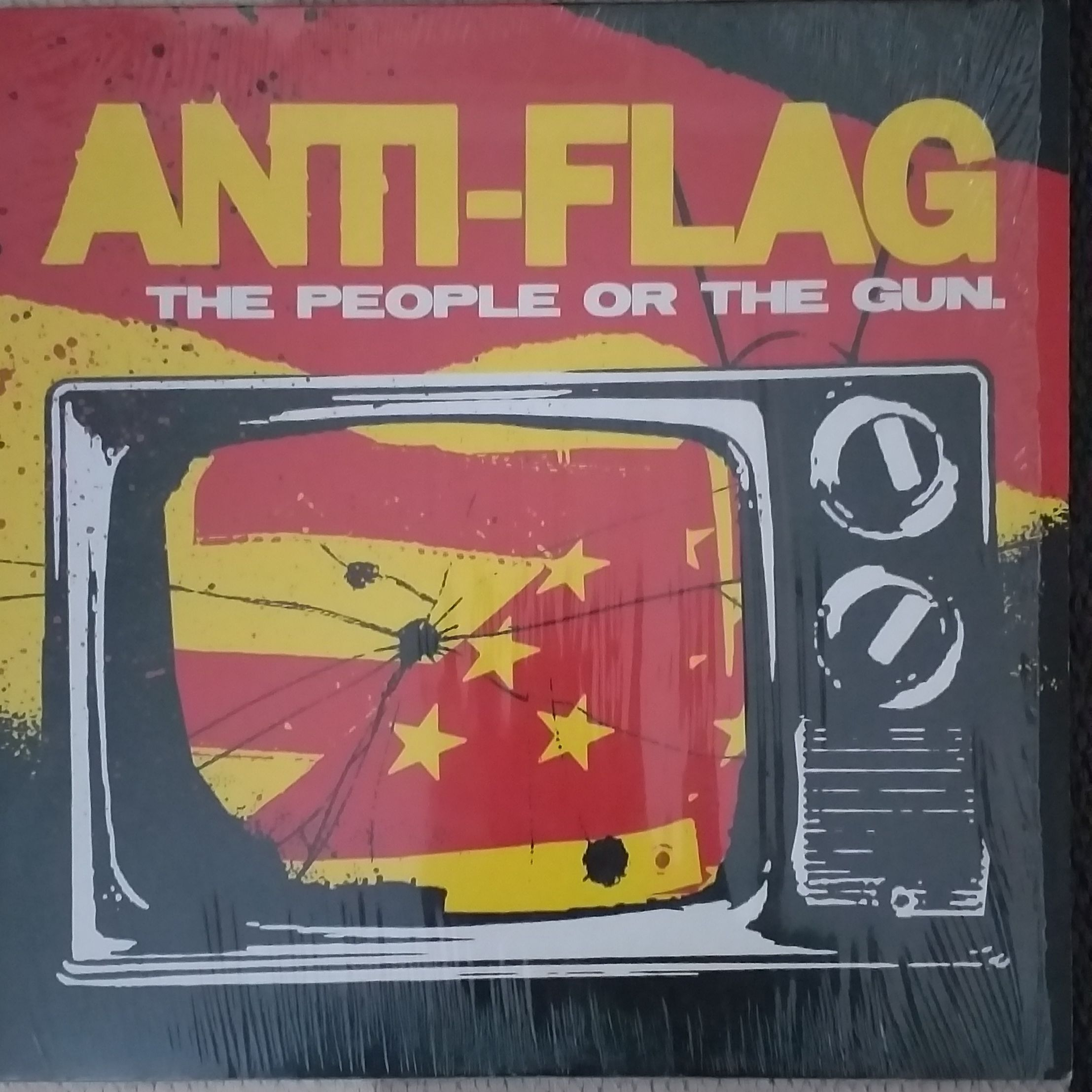 Anti-flag The people or the gun LP undefined