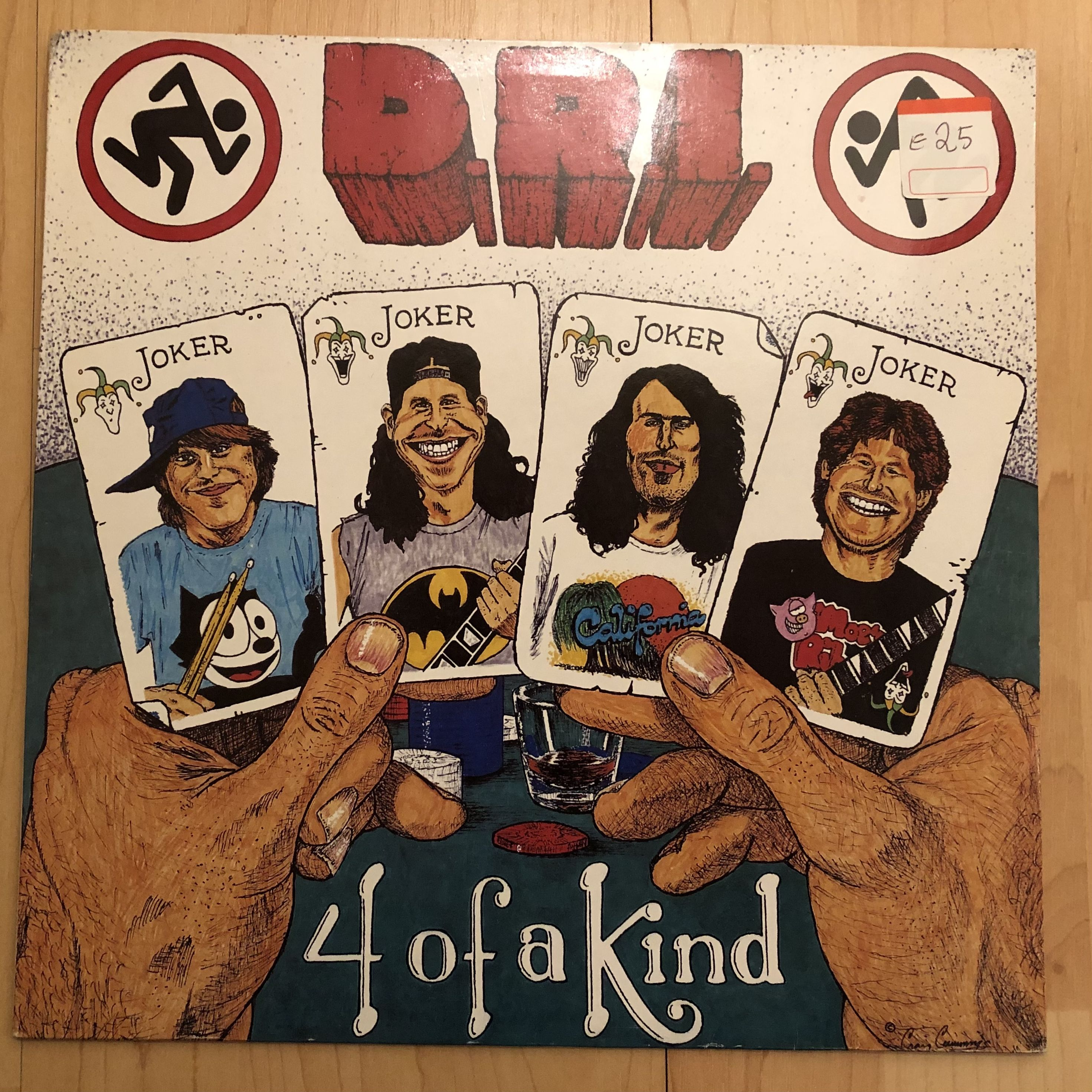 D.R.I. 4 of a Kind LP undefined