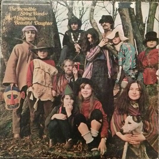 The Incredible String Band The hangman's beautiful daughter LP undefined