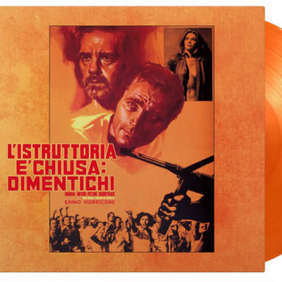 Ennio Morricone Soundtrack : L'istruttoria E'chiusa Dimentichi (50th Anniversary) (coloured) LP 2021