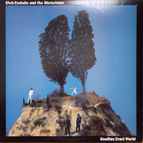 Elvis Costello & The Attractions Goodbye Cruel World LP 0
