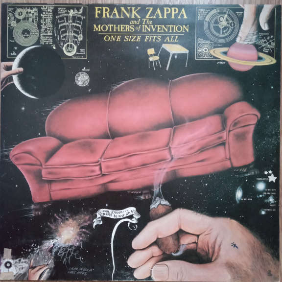 Frank Zappa And The Mothers Of Invention One Size Fits All LP 0