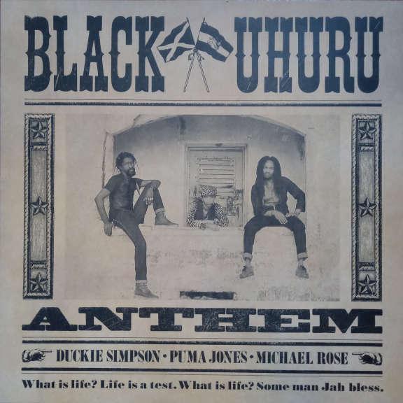 Black Uhuru Anthem LP 0
